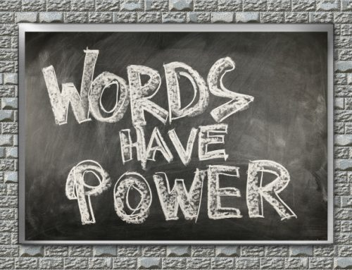 The Power of One Word—Today