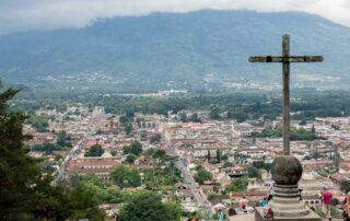 Cross in a City